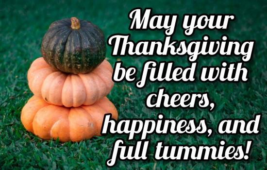 Best Thanksgiving Wishes