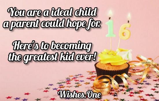 Happy 16th Birthday Quotes