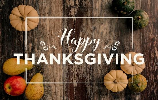 Happy Thanksgiving Wishes Status