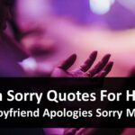 Im Sorry Quotes For Him - Boyfriend Apologies Sorry Msg