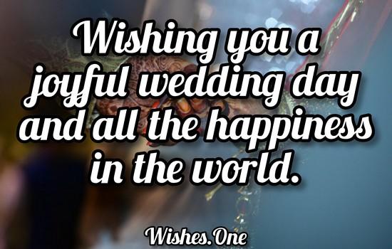 Wedding Congratulations Wishes