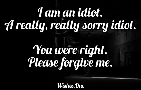 Apology Message To Your Girlfriend